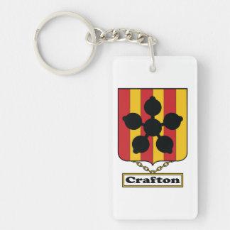 Crafton Family Crest Keychain