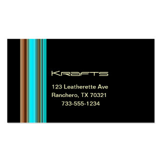 Crafts business cards