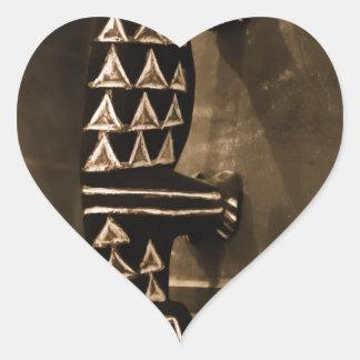 crafts heart sticker