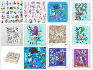 Crafts Supplies - Alice's Adventures In Wonderland