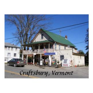 Craftsbury, Vermont Postcard