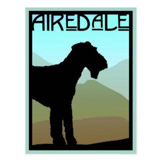 Craftsman Airedale Terrier Postcard