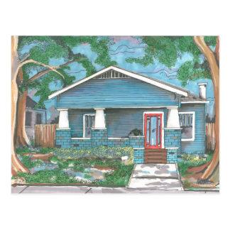Craftsman House Postcard by Thompson Kellett