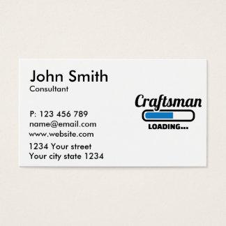 Craftsman loading business card