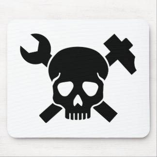 Craftsman skull mouse pad