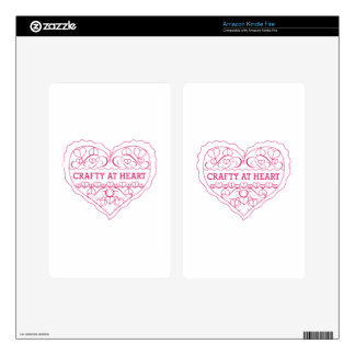 Crafty At Heart Skin For Kindle Fire