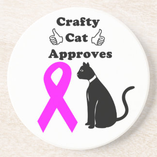 Crafty Cat BCA Coaster