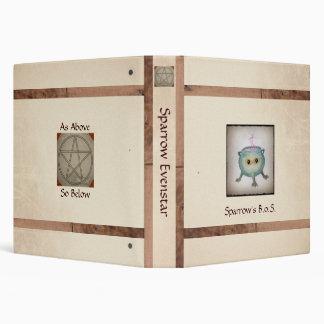 Crafty Cauldron Rustic Book of Shadows Binders