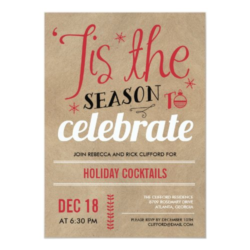 top 50 christmas dinner party invitations holiday greeting card