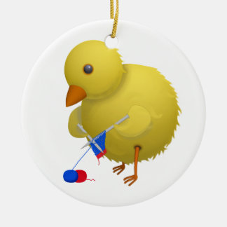 Crafty Chick Customizable Hanging Ornament