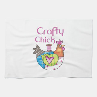 Crafty Chick Hand Towels