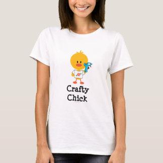 Crafty Chick T shirt