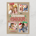 """Crafty Christmas Holiday Photo Card<br><div class=""""desc"""">Celebrate the season with this modern and stylish holiday card from Berry Berry Sweet. Visit our design showroom at WWW.BERRYBERRYSWEET.COM</div>"""