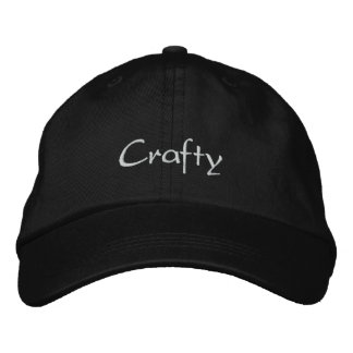 Crafty Embroidered Cap / Hat