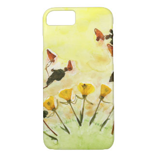 Crafty Flowers iPhone 7 Case