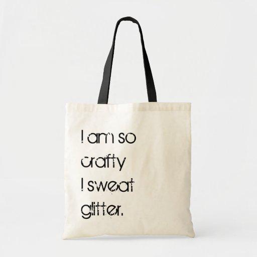 Crafty Gal Tote Canvas Bag