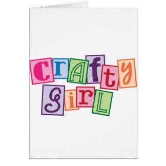 Crafty Girl Card