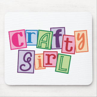 Crafty Girl Mouse Pad