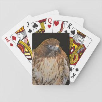 Crafty Hawk Playing Cards