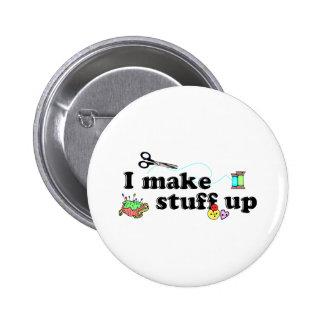 Crafty - I Make Stuff Up Button
