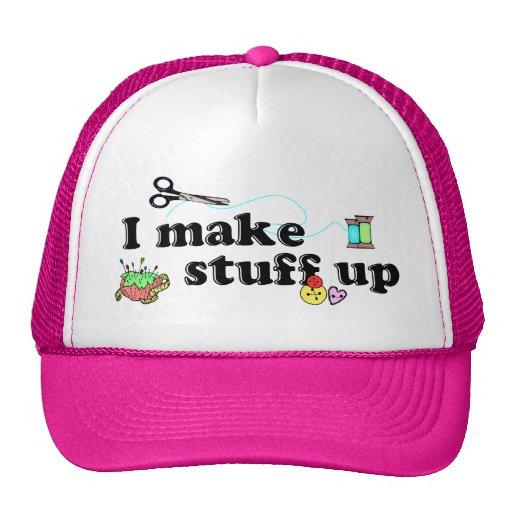 Crafty - I Make Stuff Up Hats