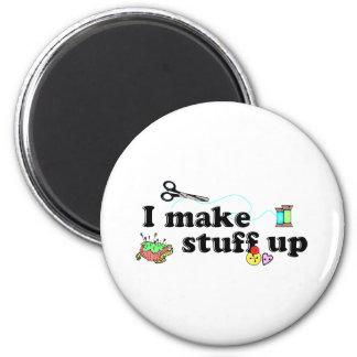 Crafty - I Make Stuff Up Magnet