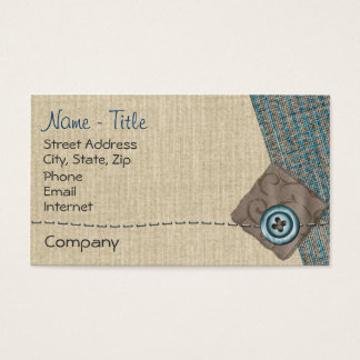 Crafty One Business Card