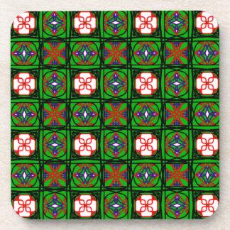 Crafty Textile Pattern Coaster