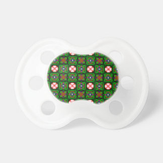 Crafty Textile Pattern Pacifier