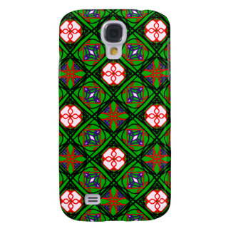 Crafty Textile Pattern Samsung Galaxy S4 Cover