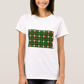 Crafty Textile Pattern T-Shirt