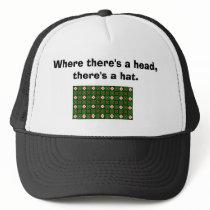 Crafty Textile Pattern Trucker Hat
