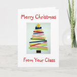 """CRAFTY TREE FOR SPECIAL TEACHER AT CHRISTMAS HOLIDAY CARD<br><div class=""""desc"""">THIS CRAFTY TREE WILL PUT A SMILE ON """"YOUR"""" TEACHER"""