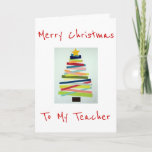 "CRAFTY TREE FOR SPECIAL TEACHER AT CHRISTMAS HOLIDAY CARD<br><div class=""desc"">THIS CRAFTY TREE WILL PUT A SMILE ON ""YOUR"" TEACHER'S FACE THIS CHRISTMAS FOR SURE!</div>"
