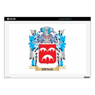 """Cragg Coat of Arms - Family Crest 17"""" Laptop Decal"""