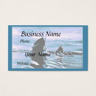 Craggy Coastline Business Card