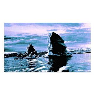 Craggy Coastline Business Card Template