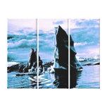 Craggy Coastline Canvas Prints