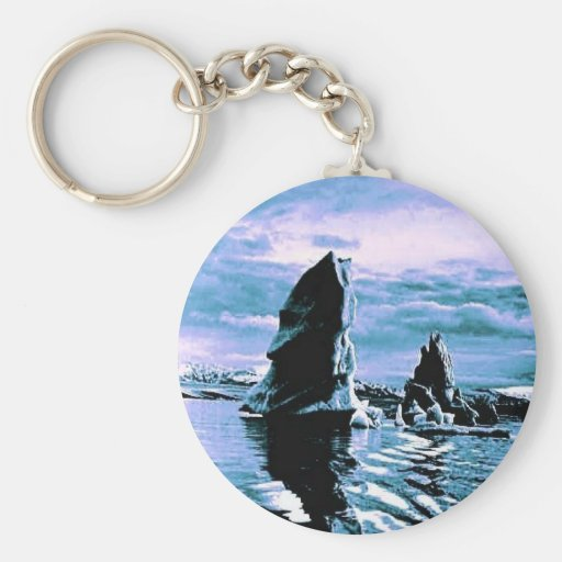 Craggy Coastline Key Chain
