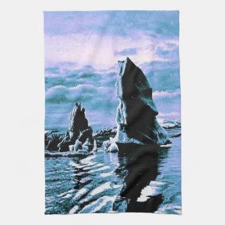 Craggy Coastline Kitchen Towel