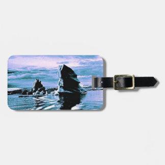 Craggy Coastline Travel Bag Tags