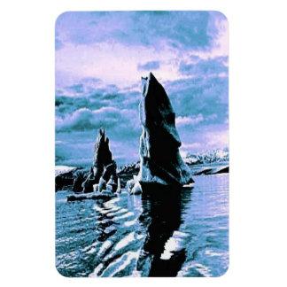 Craggy Coastline Magnet