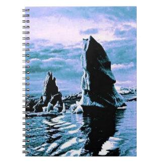 Craggy Coastline Spiral Notebooks