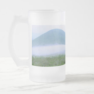 Craggy early morning 014, Upliftingphotography Frosted Glass Beer Mug