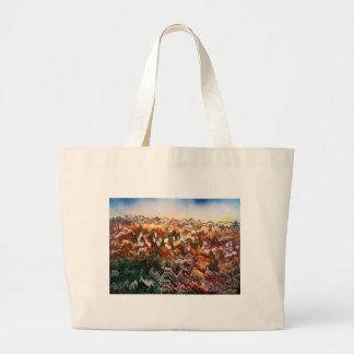 Craggy Landscape Large Tote Bag