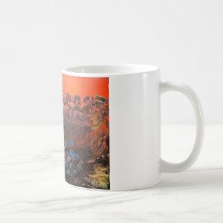 Craggy Mountain Sunset Coffee Mug