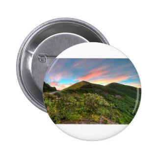 Craggy Pinnacle Sunset Button