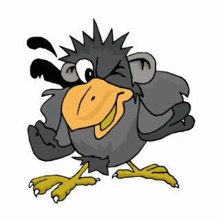 Cragy Crow Statuette