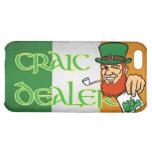 Craic Dealer Irish Flag iPhone 4 Case