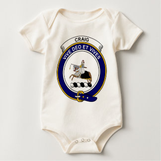 Craig Clan Badge Baby Bodysuit